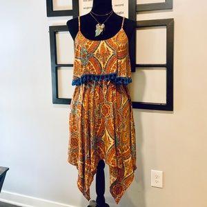 Umgee USA Multi-color Western Dress